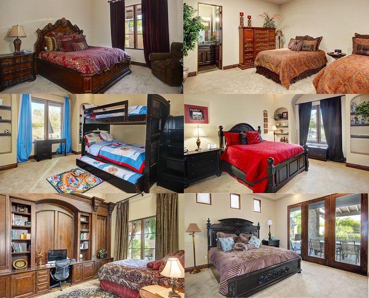 Chacune de nos chambres est spacieuse et confortable, laquelle voulez-vous?