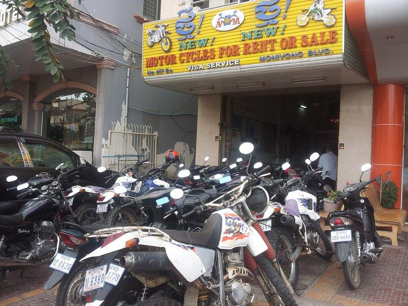 motorbikes rental, Scooter rental, Motor, Bike, – semesterbostad i Kambodja