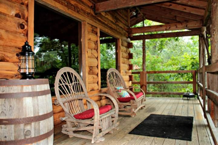 Balcony features grill, hot tub, and awesome Smoky Mountain Views!