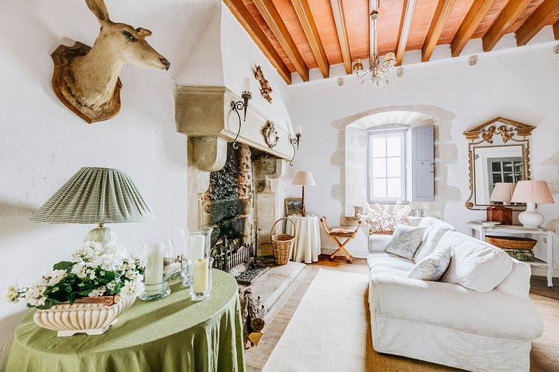 Villeneuve Chateau Sleeps 6 - 5644025, location de vacances à Saint-Jean-de-Sauves