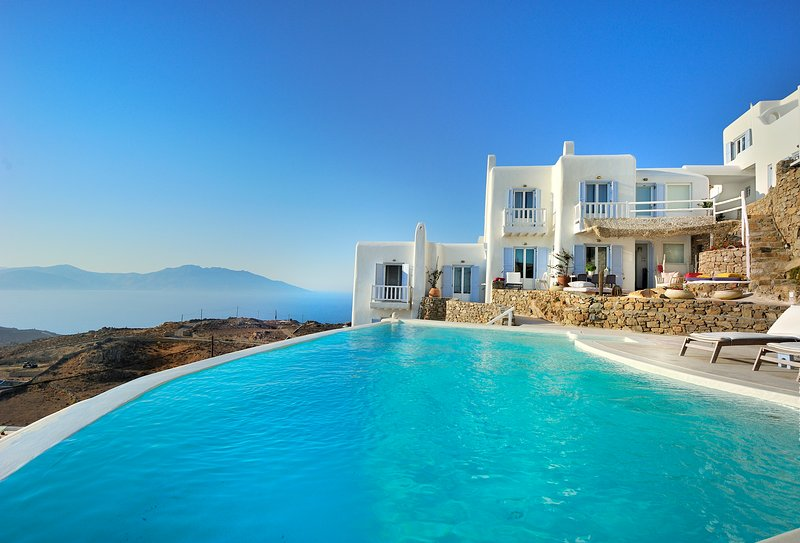 Mermaid Luxury Villas In Mykonos Has Children S Pool And Central Heating Updated 2019 Faros