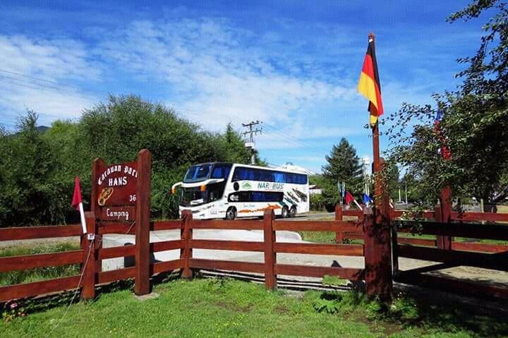 Camping caravan park Hans camino internacional 364 catripulli Pucon en araucania chile