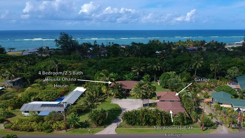 You are renting the 4 Bedroom/2.5 Bath House. The 2 Bedroom/1 Bath is also a rental.