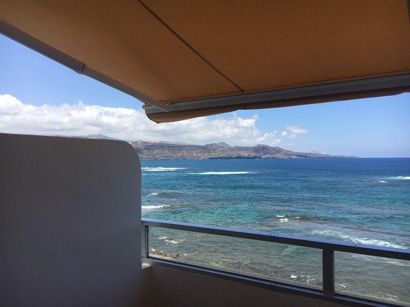 Apartamento 1ª línea de playa, aluguéis de temporada em Las Palmas de Gran Canaria