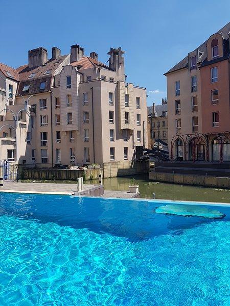 'Comme à Venise' au coeur de Metz-Opéra, holiday rental in Kedange-sur-Canner