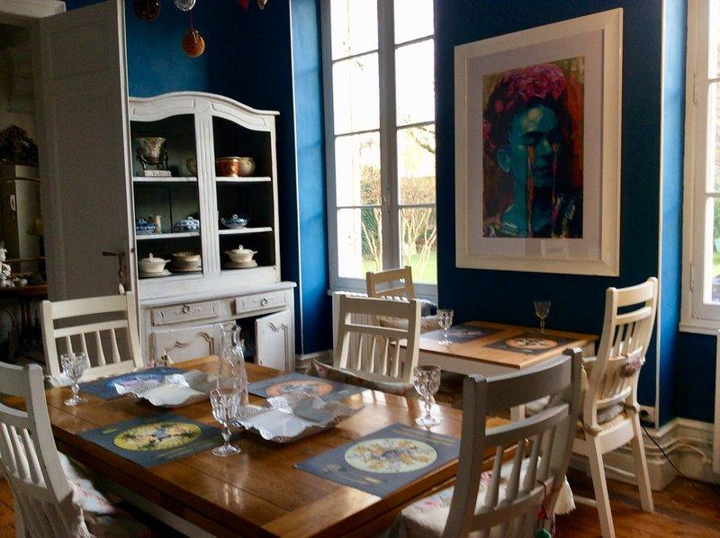 Chambre d'hote La Duchesse. Rooms to rent. Bed & breakfast.  Central and unique, alquiler de vacaciones en Lot-et-Garonne