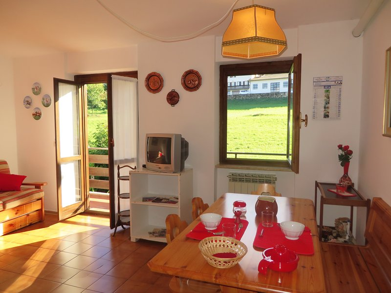 IN NATURE BELLAVISTA APARTMENT NEAR GARDA LAKE AND MONTE BALDO, vacation rental in Brentonico