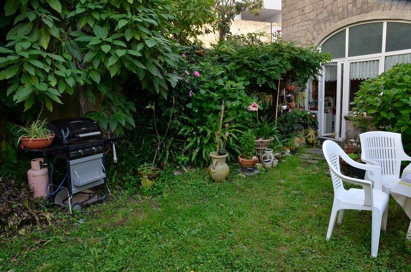 Back garden of the house