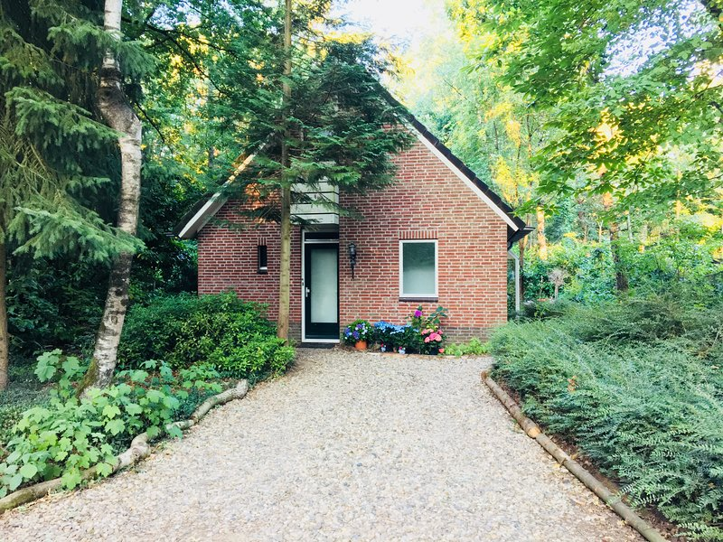 Lovely detached Holliday home situated in the forests of Gelderland (privacy), holiday rental in Silvolde