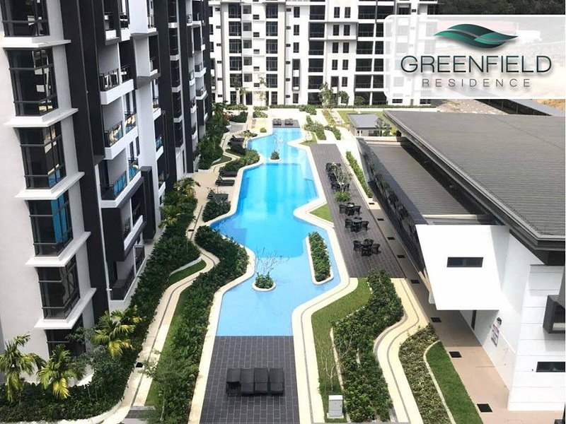 Relaxing Suite Condo Greenfield Residence – semesterbostad i Kota Kinabalu