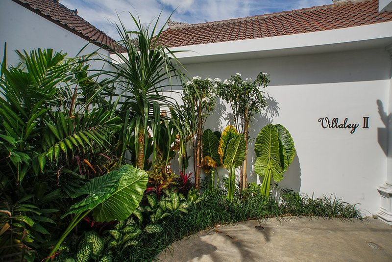Beautiful gardens surround your Villa.
