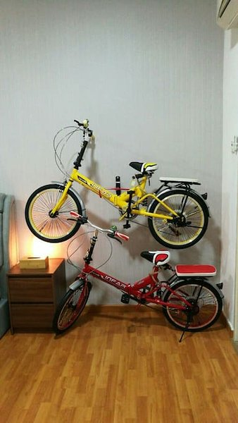 2 foldable bikes for you to go around the city