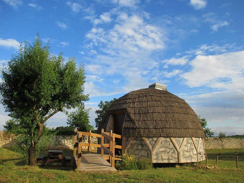 L'igloo en bois a été démonté, il n'existe plus, location de vacances à Fouras