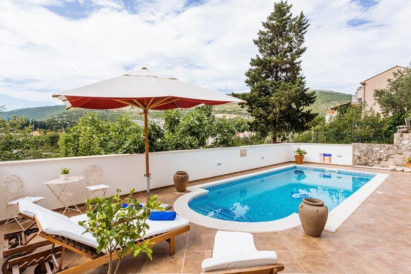 Rozat Villa Sleeps 8 with Pool and Air Con - 5048841, location de vacances à Prijevor