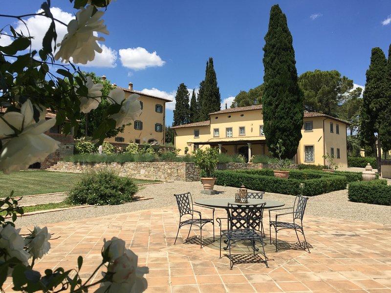 Villa Felice - Vacation in Italy,  Tuscany,  Cortona, location de vacances à Cignano