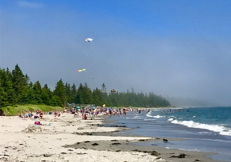 Nearby Rissers Beach