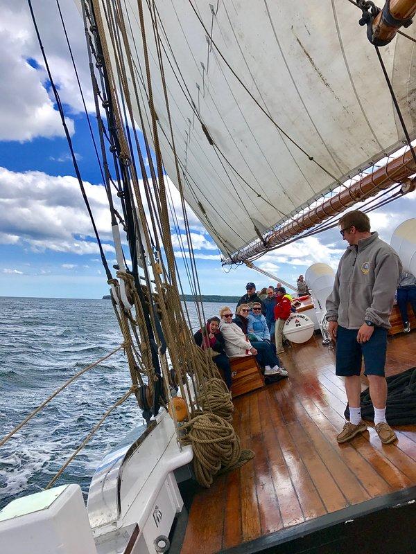 Cruising on the Bluenose