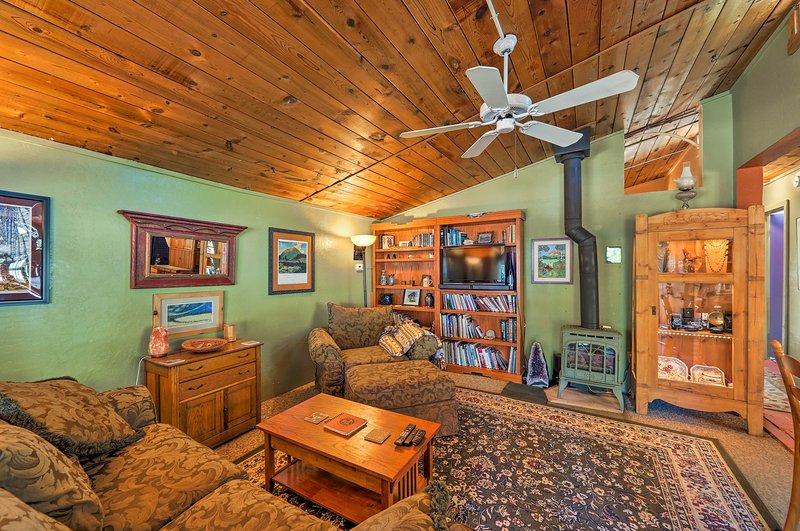 Situato a Flagstaff, questa casa per 3 è infinitamente lussuosa.