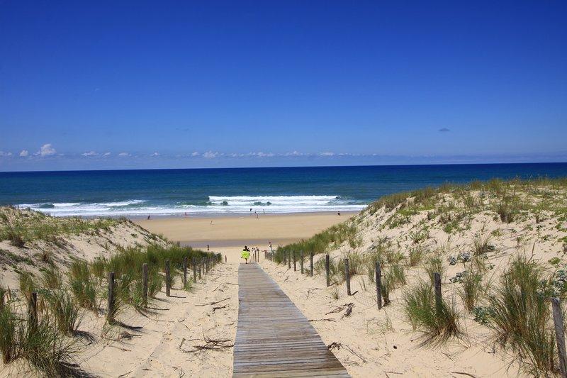 Las playas del océano, a 5 minutos de la villa