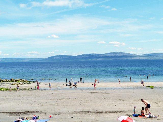 Spiddal Beach.