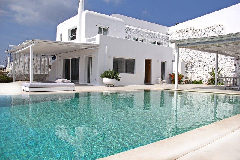 La propiedad - Villa Psarou / la experiencia anterior de Nammos