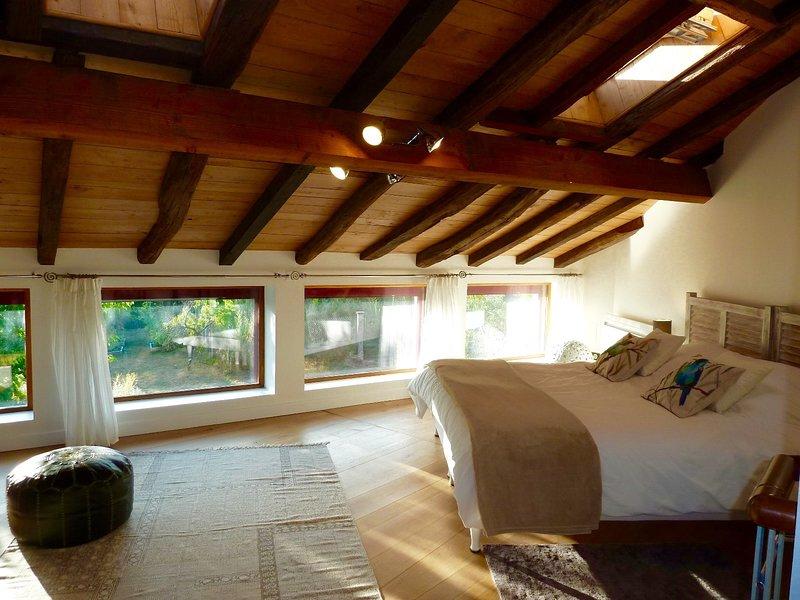 2 bedden 90x200 samengevoegd om een bed van 180x200 te maken. Zomer set