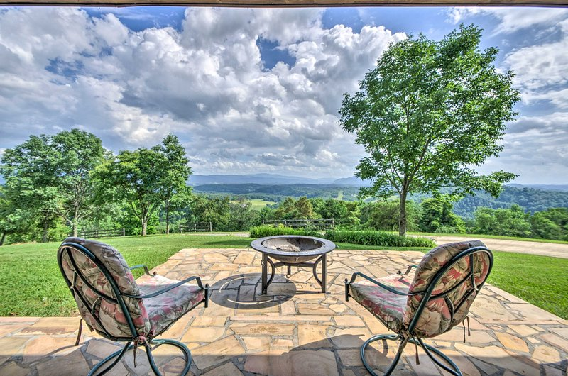 Peace and tranquility await at this Watauga vacation rental home!