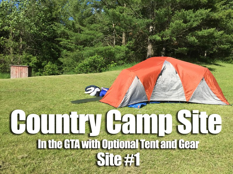 Camp Site in the GTA w/ Optional Tent / Gear - 1 – semesterbostad i Newmarket