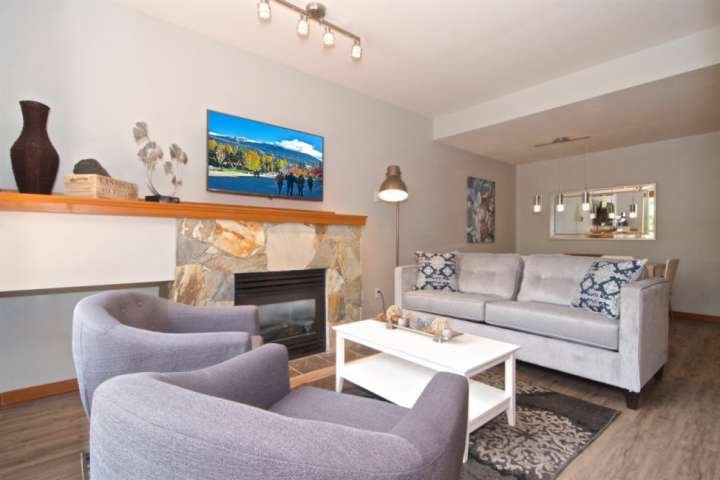 Spacious and conveniently located Townhouse in quiet area directly across from t Chalet in Whistler