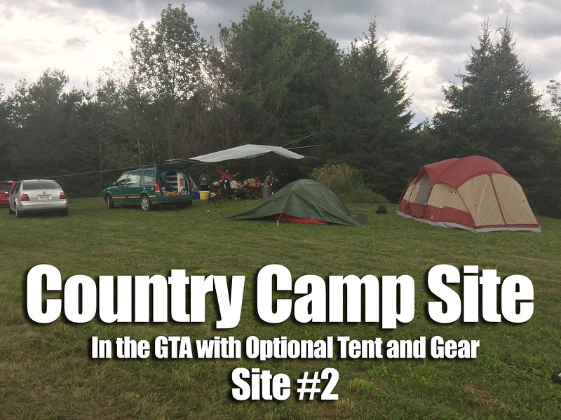 Camp Site in the GTA w/ Optional Tent / Gear - 2, holiday rental in Bolton