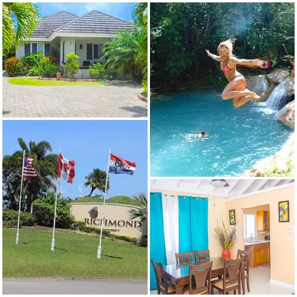 Ocho Rios Villa at The Palms - Richmond, holiday rental in Priory