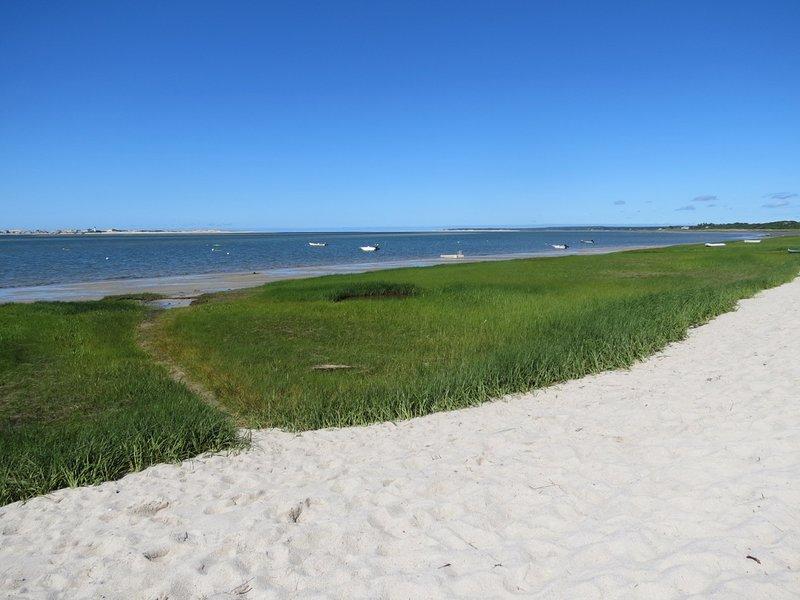 Your neighborhood beach is just a few short steps away.