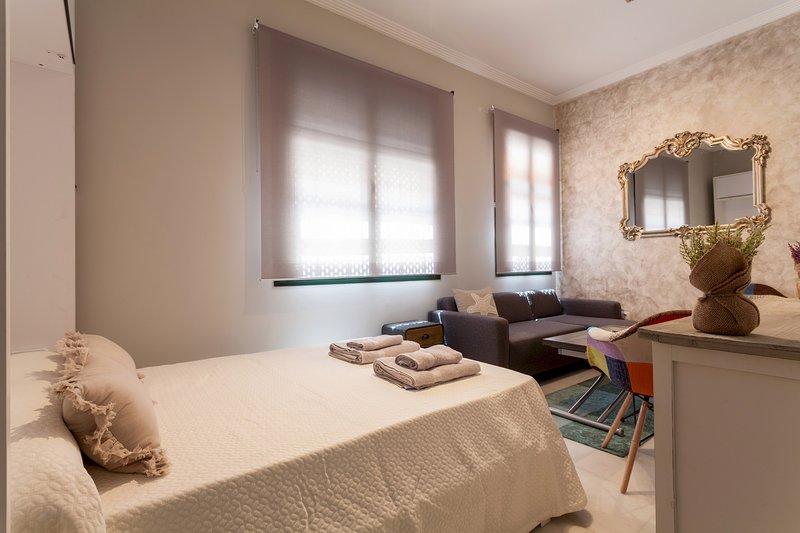 Green Apartments Plaza Nueva II: Apartamento Deluxe, holiday rental in La Campana