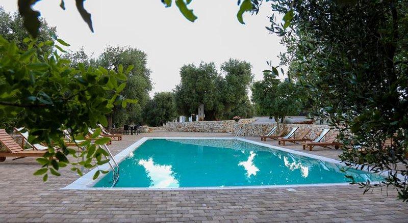 Big villa with swimming-pool & Wifi, alquiler de vacaciones en Certosa