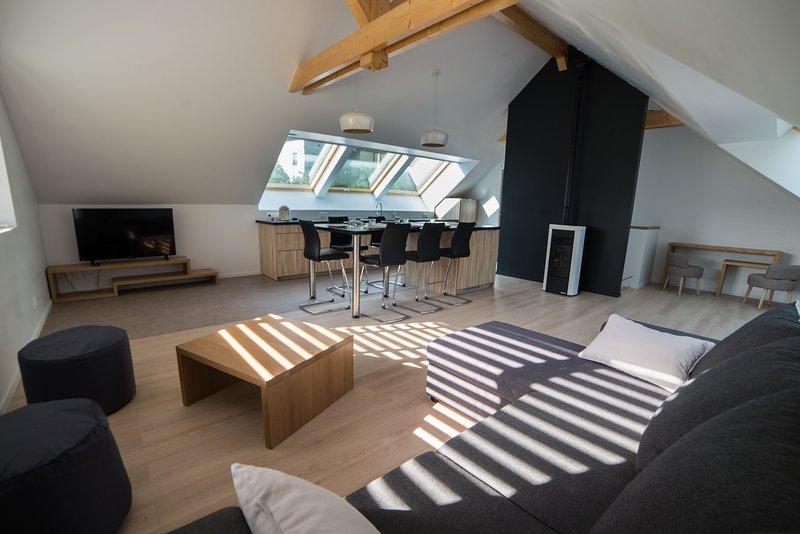 sala de estar duplex