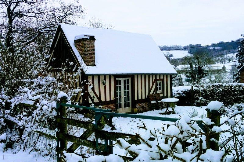 Le Lavoir is gezellig in de winter