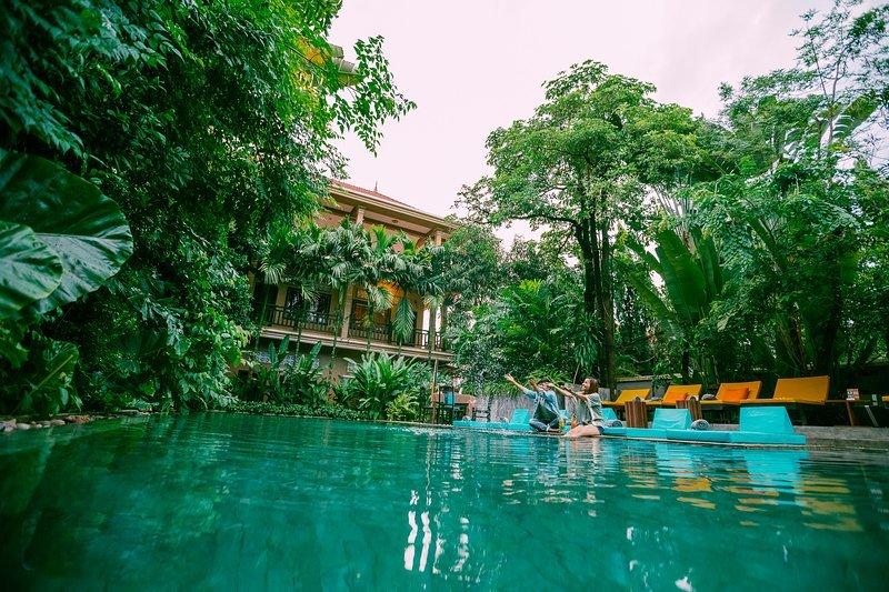 eOcambo Village - Superior Twin Room 4, location de vacances à Sueydongkorn