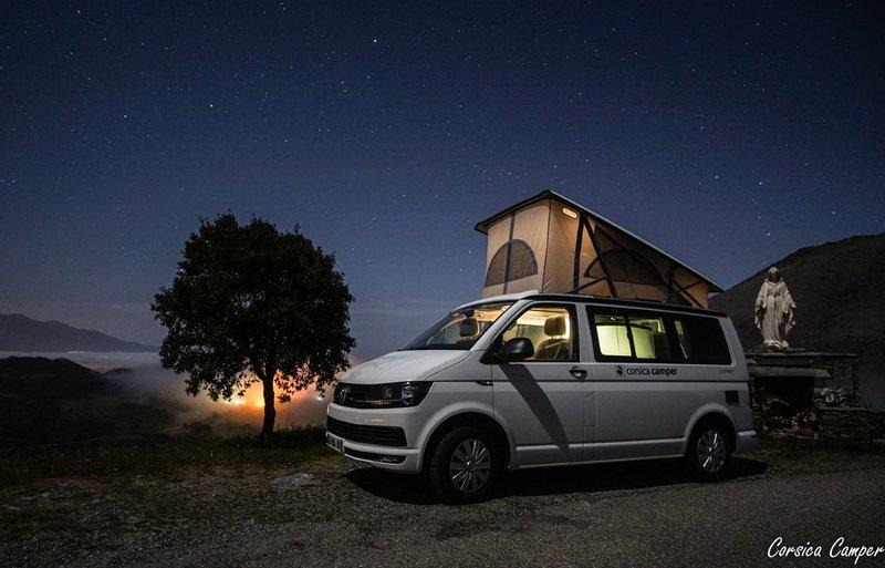 Corsica Camper - Volkswagen California T6 Camper van, holiday rental in Borgo