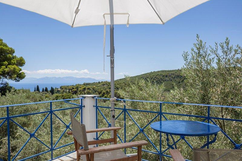 Skopelos Town Villa Sleeps 6 with Pool - 5625435, holiday rental in Stafylos