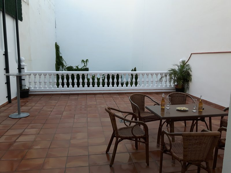 Piso con terraza en el centro de Vélez-Málaga, alquiler de vacaciones en Vélez-Málaga