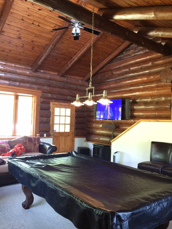 TV/Entertainment room located in back of house