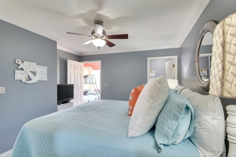 Gulf Highlands 169-Master Bedroom with King sized bed