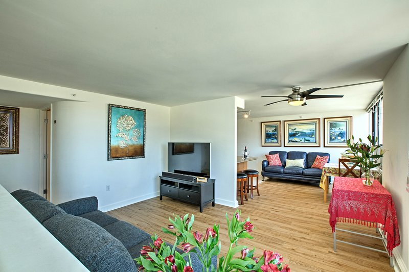 ¡Explore Honolulu desde este condominio de alquiler de vacaciones de lujo!