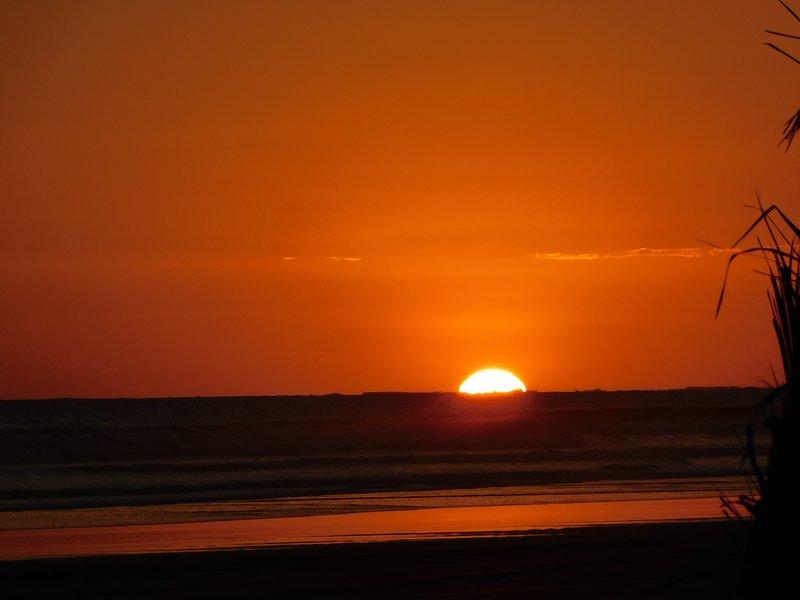 Stora solnedgångar varje dag