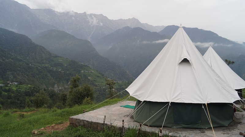woodscation bed 1, alquiler vacacional en Bharmour