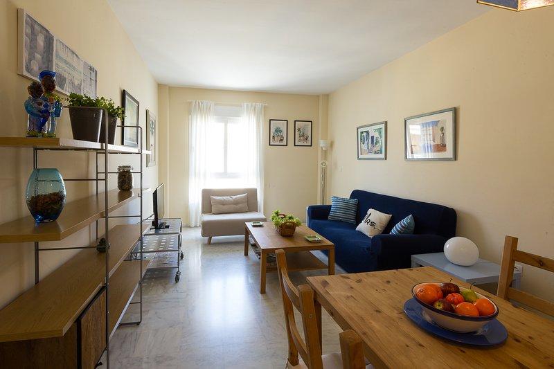 Loreto. 2 bedrooms, 2 bathrooms, holiday rental in Fuente del Rey
