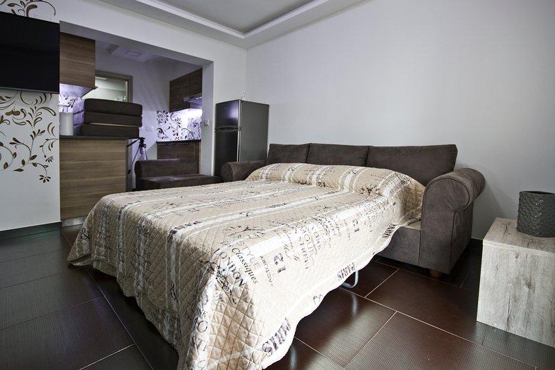 Apartment Little King Koper IG1, holiday rental in Marezige