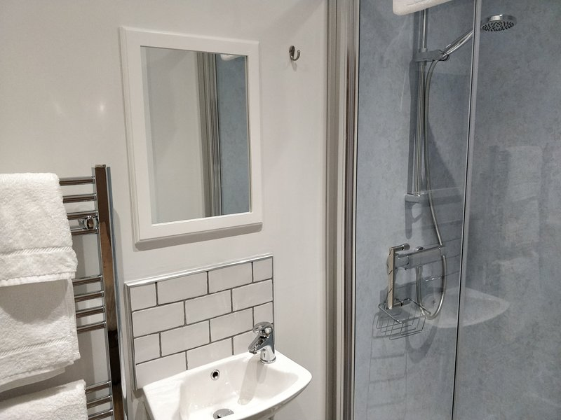 Both shower rooms have identical facilities.
