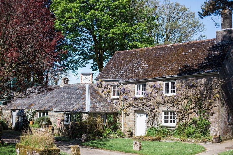 Manor Cottage, Botelet Farm in Cornwall, location de vacances à Liskeard