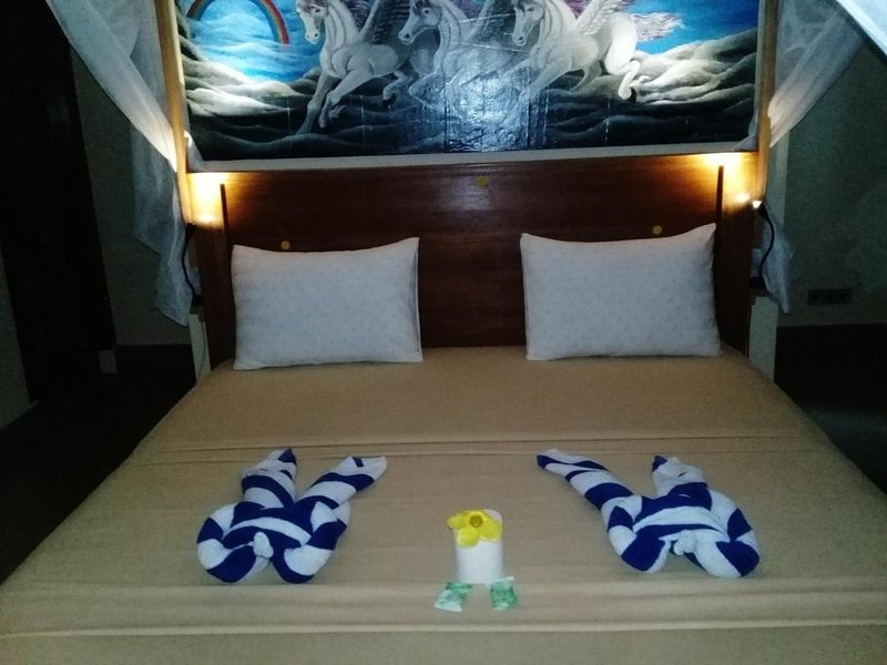 Pelangi Cottages - Panoramic Double Room # 3, holiday rental in Gili Air